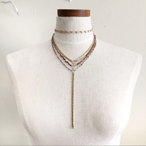 Free People layered necklace NWT